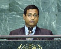 Ahmed Shaheed, the new United Nations Special Rapporteur on the situation of human rights in Iran. He took up his position on 1 August 2011. The creation of the post – which monitors Iran's compliance with international human rights standards – was approved by a vote at the UN Human Rights Council in March this year. UN Photo/Steven Koh.