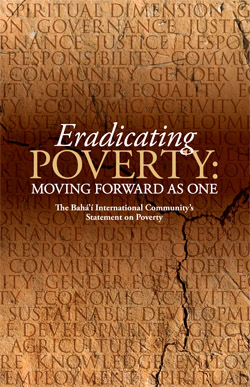 Eradicating Poverty Statement Cover