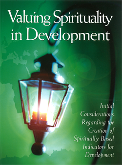 Valuing Spirituality in Development cover