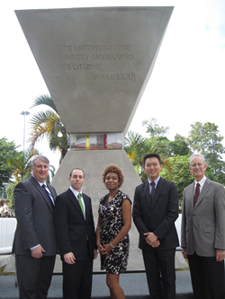 Members of the Baha'i International Community's delegation to Rio+20