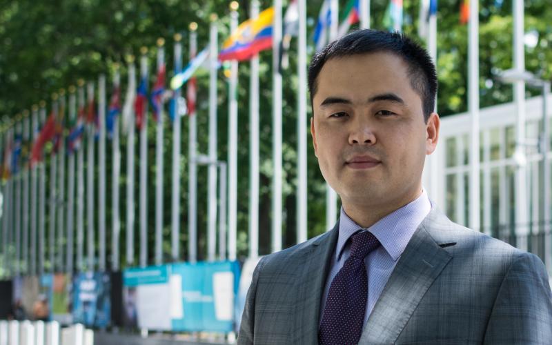 Серик Токболат, Представитель Международного Сообщества Бахаи при Организации Объединенных Наций (ООН)