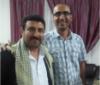 Mr. Waleed Ayyash (left) and Mr. Kayvan Ghaderi (right). Mr. Ghaderi has been imprisoned since 2016.