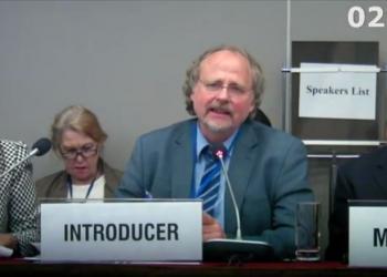 United Nations Special Rapporteur on Freedom of Religion or Belief, Prof. Heiner Bielefeldt