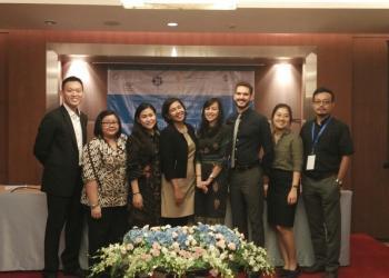 Representatives and associates of the Baha'i International Community Jakarta Office