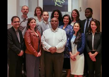 A delegation of Baha'is from Australia, Canada, Ghana, the US and Vanuatu joined the BIC during the HLPF to share experiences of the worldwide Baha'i community as related to the Sustainable Development Goals