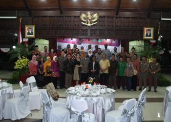 Opening Dinner at the District Governor's Residence (Kabupaten Malang)