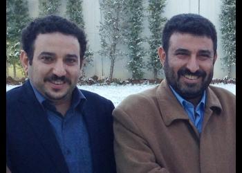 Mr. Waleed Ayyash (right) and Mr. Akram Ayyash (left), who have been imprisoned since 2017.