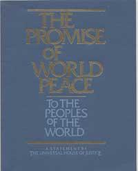 The Promise of World Peace cover